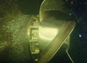 HYDREX: Fuel savings from underwater PBCF installation
