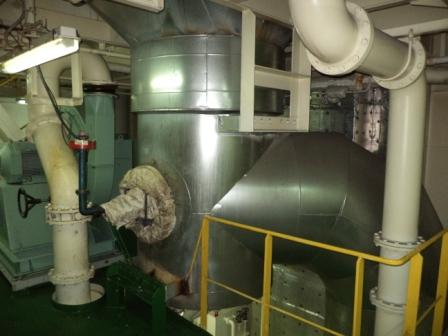 BEFORE EXH GAS ECONOMIZER