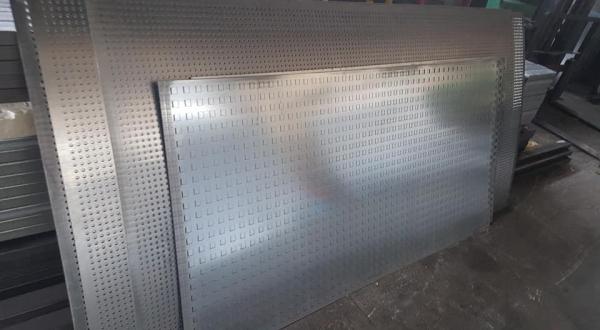 Perforated Sheet Manufacturing Solutions - Diatrita Piraeus Greece