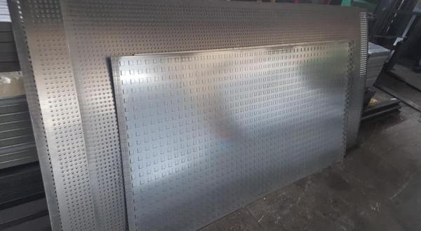 Perforated Sheet Manufacturing Solutions - Diatrita Piraeus Greece